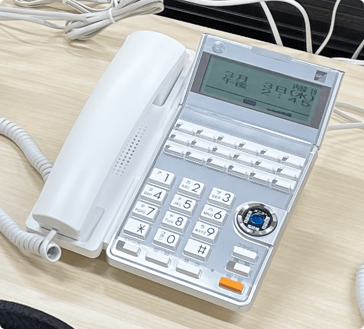 ビジネスフォン・電話工事